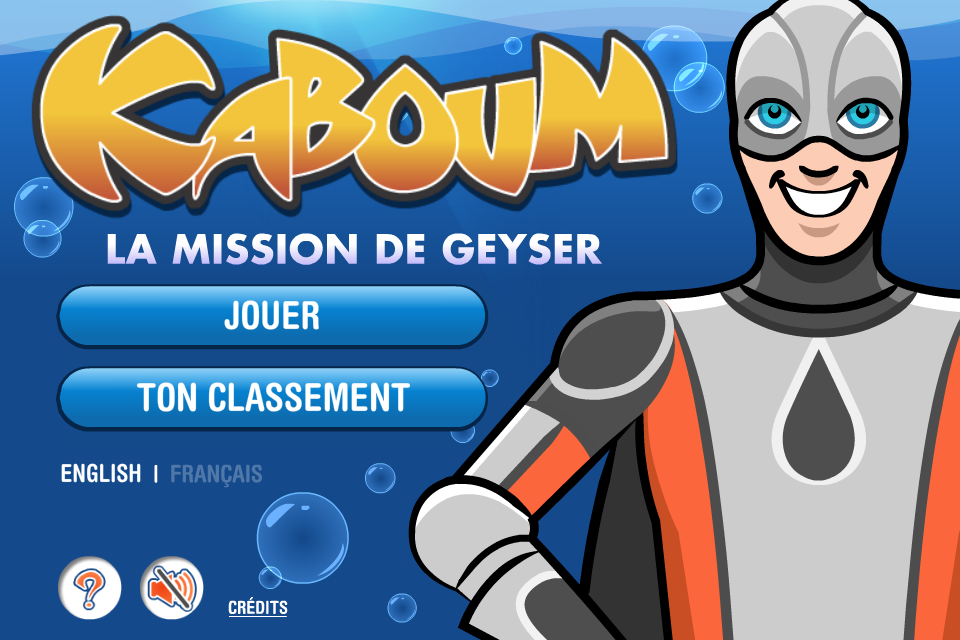 Screenshot Kaboum : Geyser's Mission